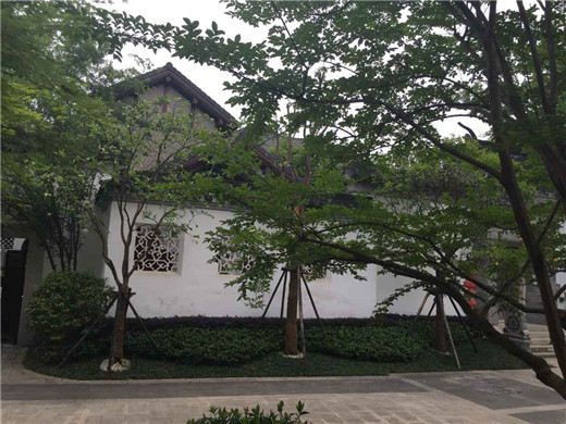 美式别墅院墙大门
