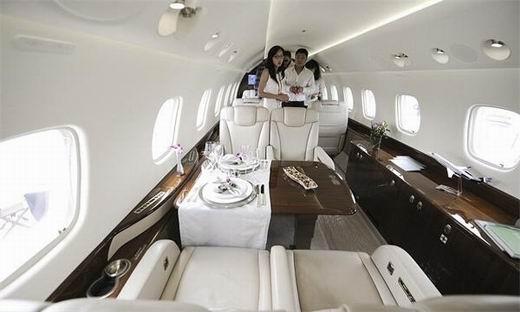 超级奢华私人飞机