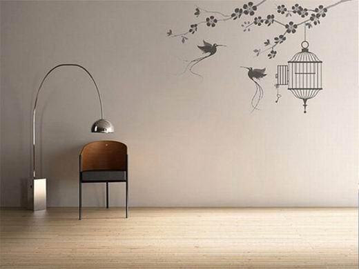 小清新壁纸 打造时髦美丽家居