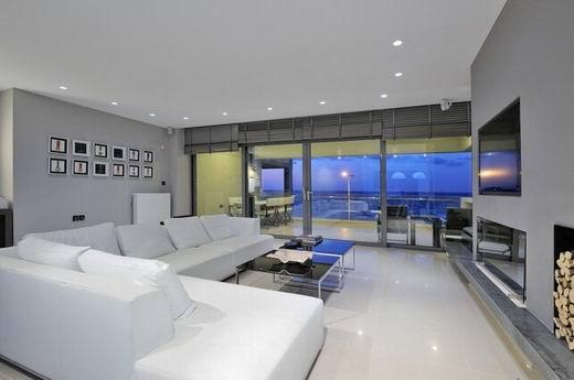 希腊室内设计:tectus的摩登住宅(6)