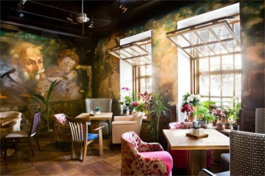 餐厅主题继承了和食餐厅的设计理念
