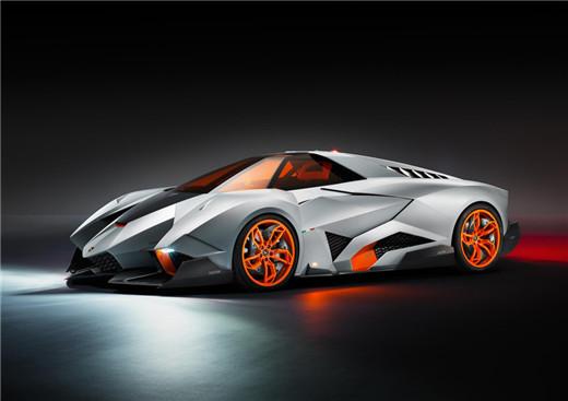 精品楼盘网--兰博基尼「egoista」概念超级跑车