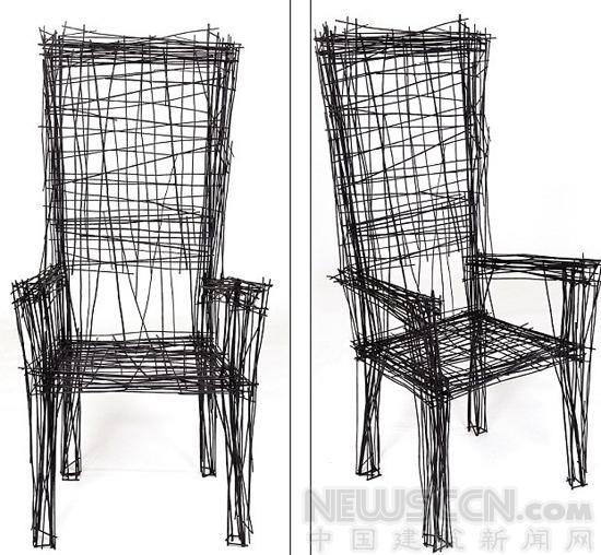 """设计师打造""""素描""""家具 犹如平面涂鸦"""