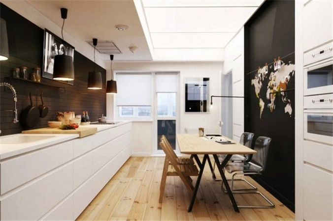 家居图片新闻 家居生活 >> 正文  ( 10)        这间精致的公寓由俄罗