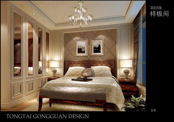 背景墙 房间 家居 起居室 设计 卧室 卧室装修 现代 装修 600_423图片