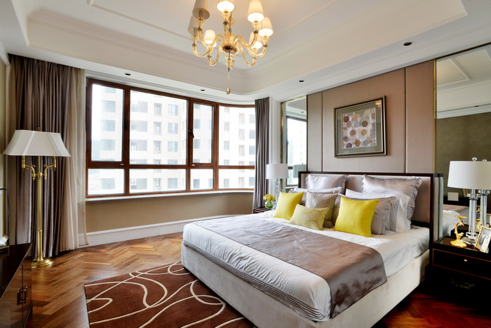 背景墙 房间 家居 起居室 设计 卧室 卧室装修 现代 装修 700_467