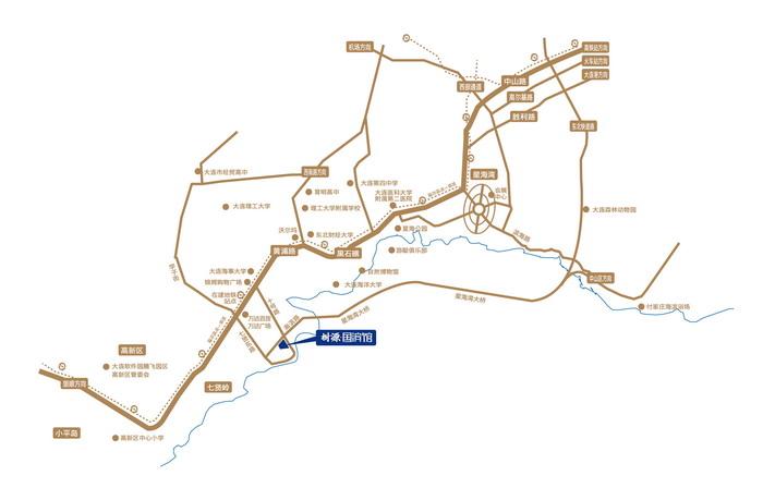 地理位置图_手绘简单地理位置图片